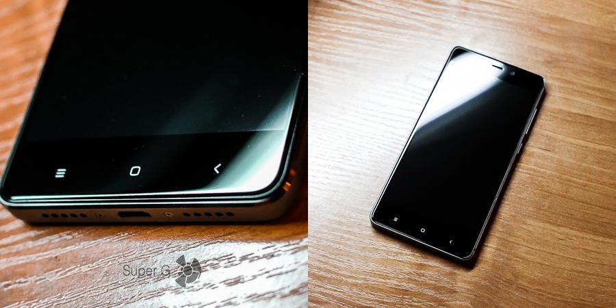 Подэкранные кнопки у Xiaomi Redmi 4 Prime