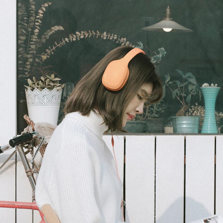 Xiaomi Mi Headphones Comfort розовые