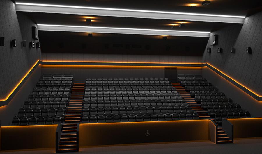 Dolby Atmos кинозал