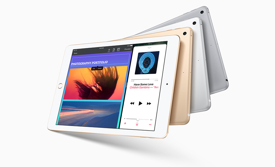 Apple iPad цвета