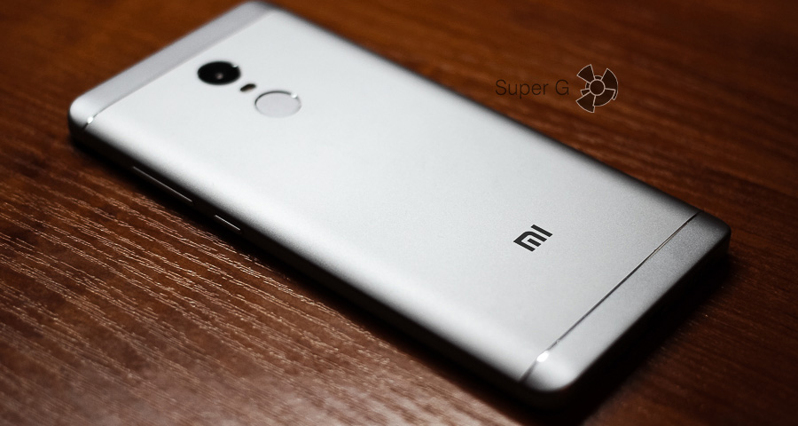 Дизайн Xiaomi Redmi Note 4X