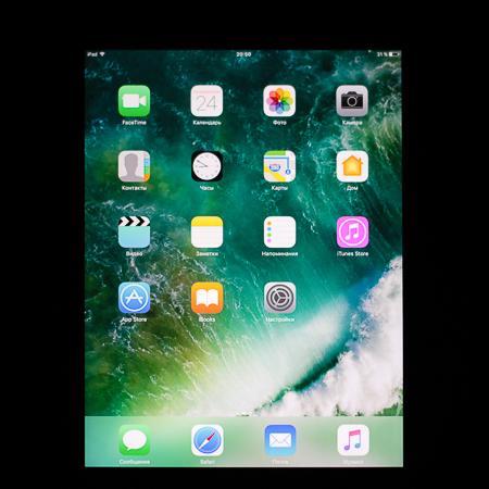 Качество дисплея iPad 2017