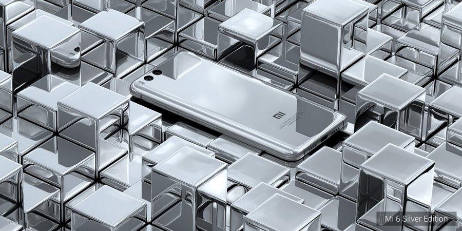 Xiaomi Mi6 серебристый