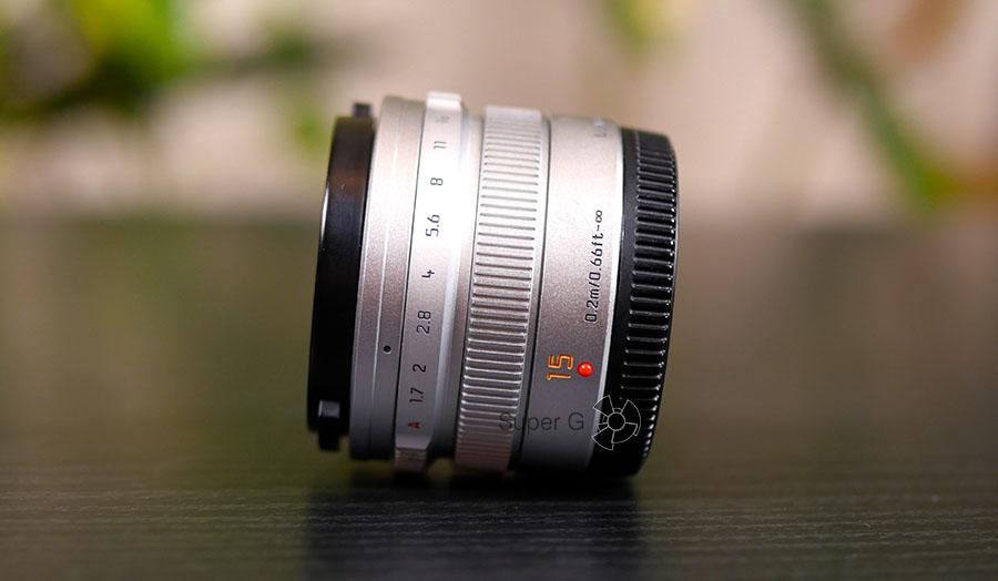 Panasonic Leica DG Summilux 15mm f/1.7 Asph (H-X015)