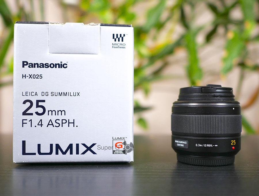 Panasonic Leica DG Summilux 25mm f/1.4 Asph DG (H-X025)