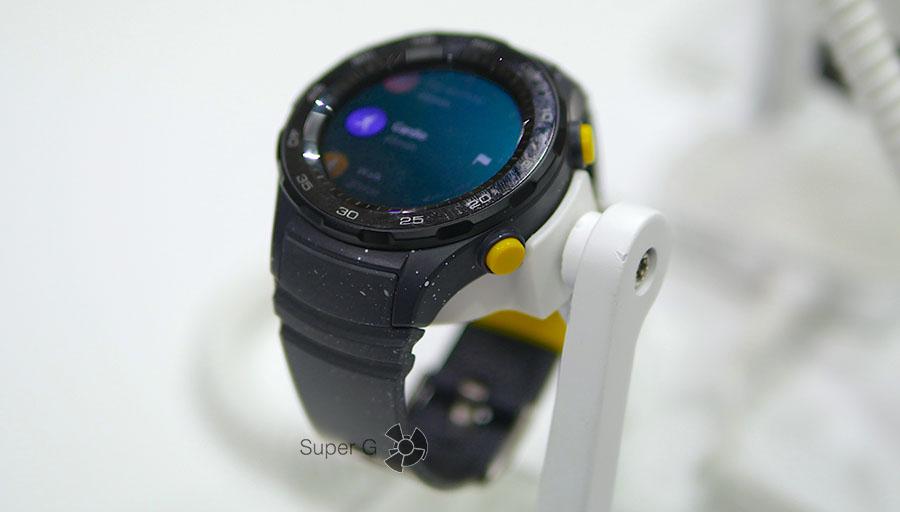 Huawei Watch 2 Sport - серые и эффектом разбрызганной краски