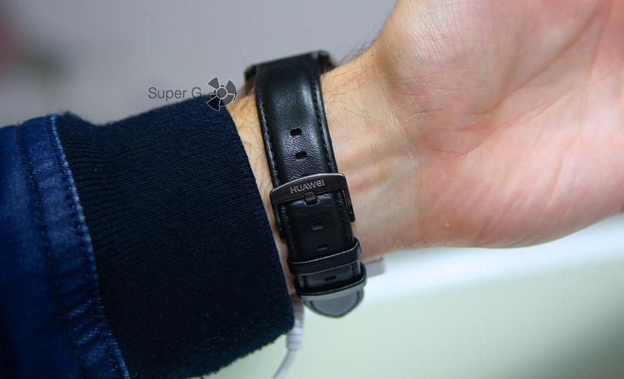Кожаный ремешок от Huawei Watch 2 Classic