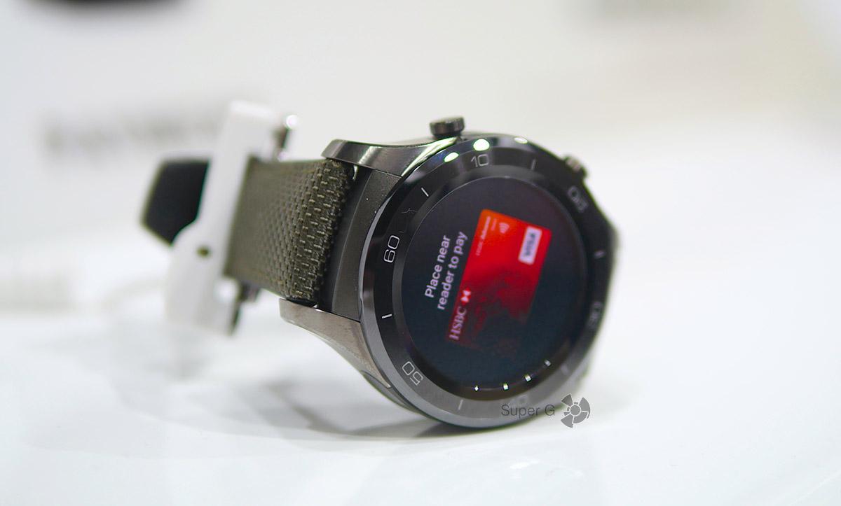 Классические Huawei Watch 2 (не спортивная модель)