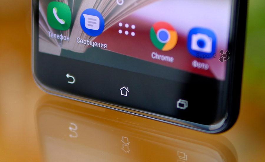 Сенсорные кнопки Asus ZenFone 3 Zoom лишены подсветки