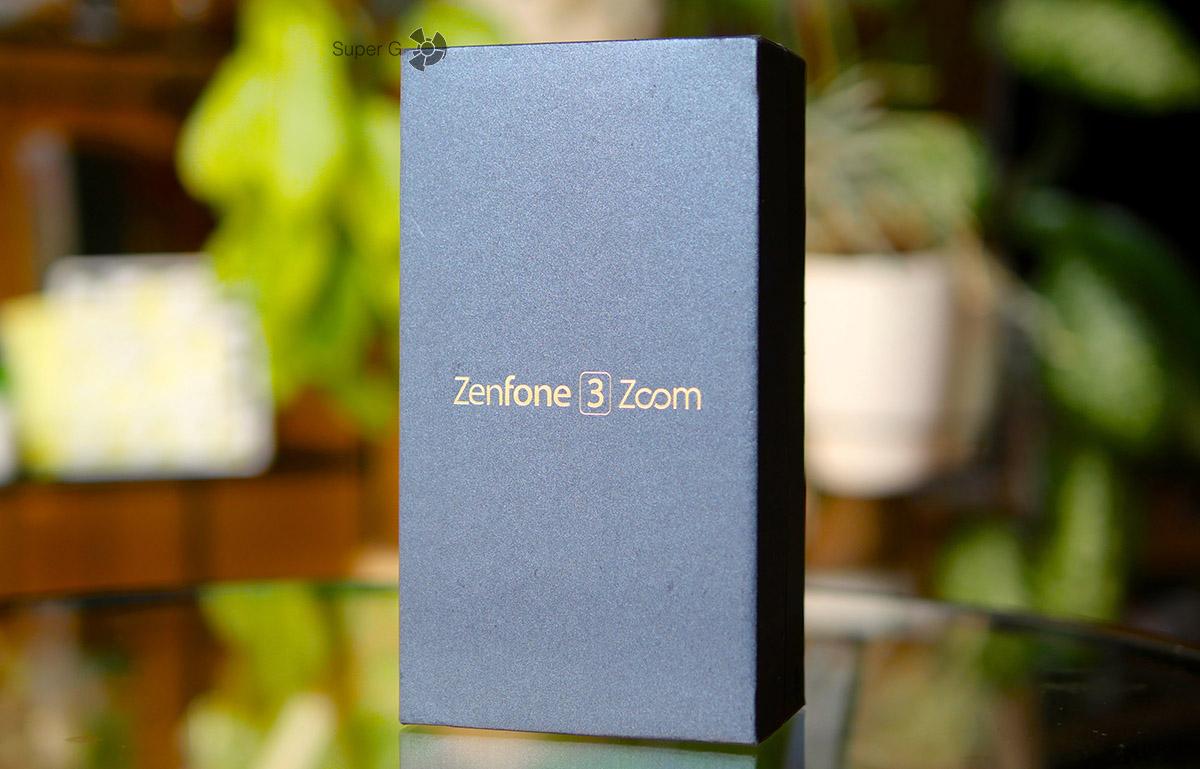 Распаковка Asus ZenFone 3 Zoom - коробки от смартфона