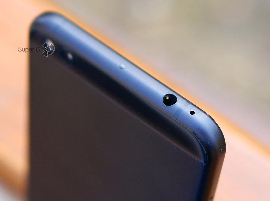 Аудиопорт 3,5 мм для наушников в смартфоне Xiaomi Mi 5C