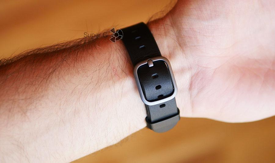 Застёжка от кожаного ремешка LG Watch Style