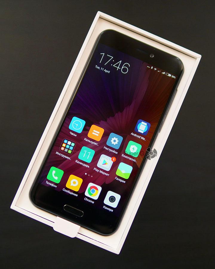 Распаковка Xiaomi Mi 5C