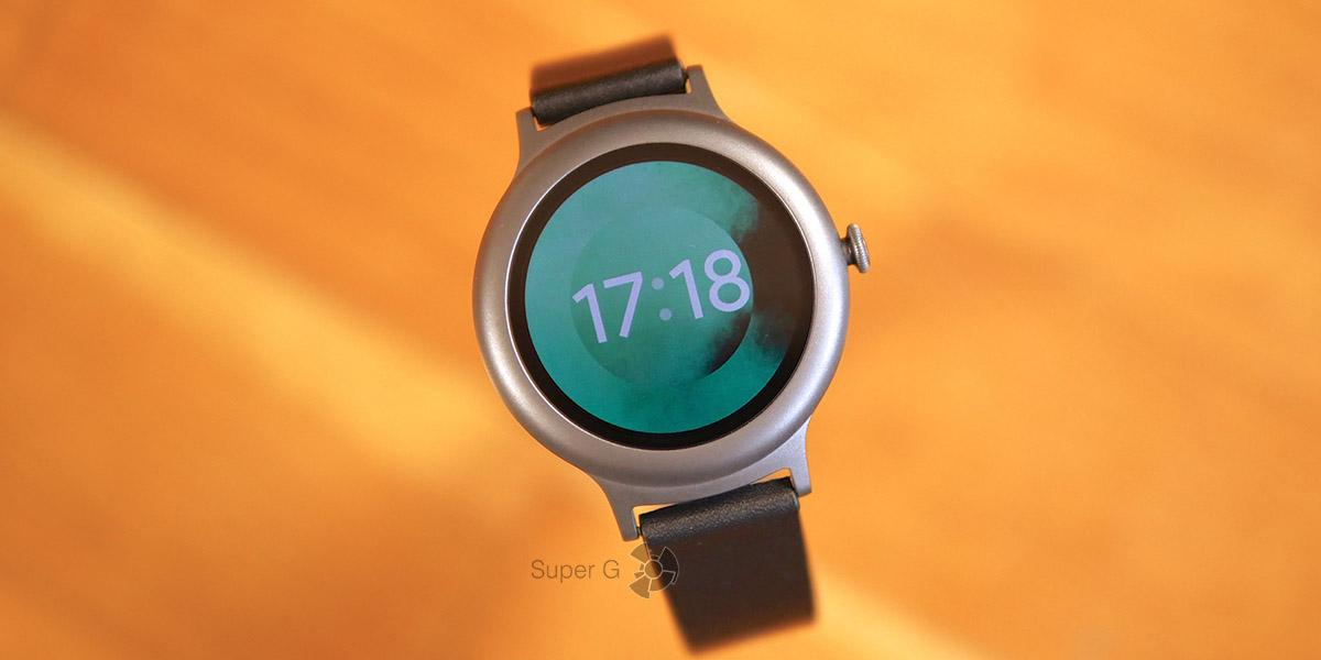 Экран в LG Watch Style полностью круглый
