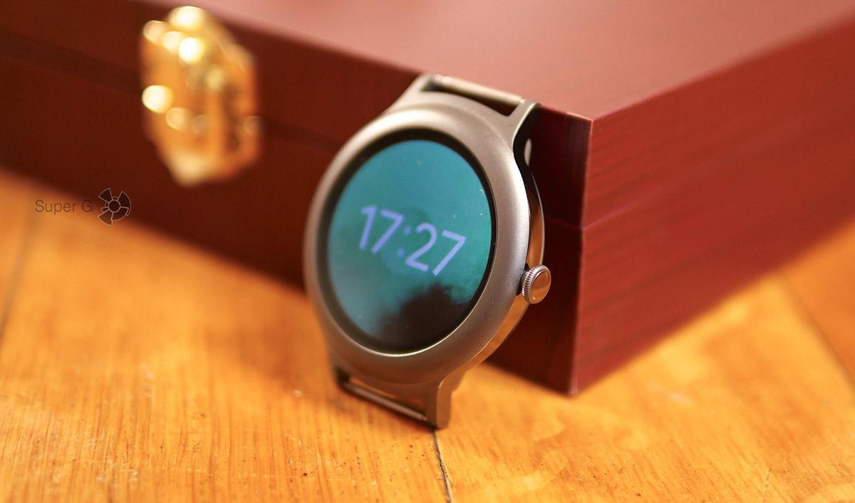 Коронка для пролистывания списков Android Wear 2.0 - не нужна