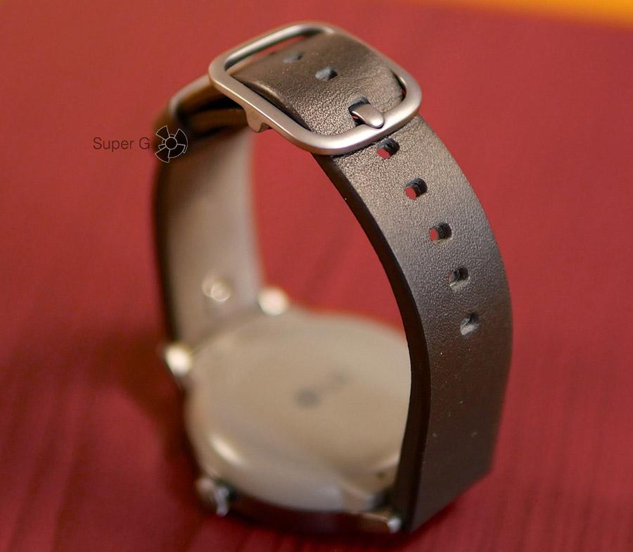 Удобная застежка ремешка для LG Watch Style