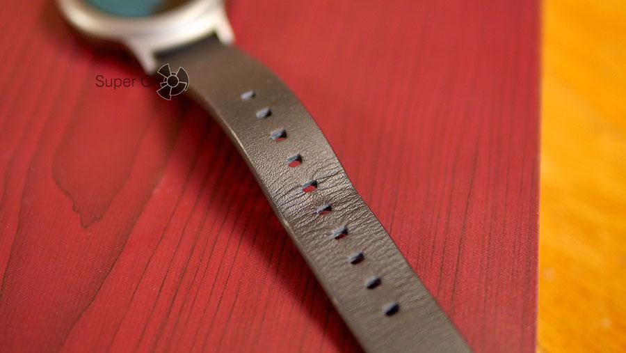 Кожаный ремешок от LG Watch Style быстро изнашивается