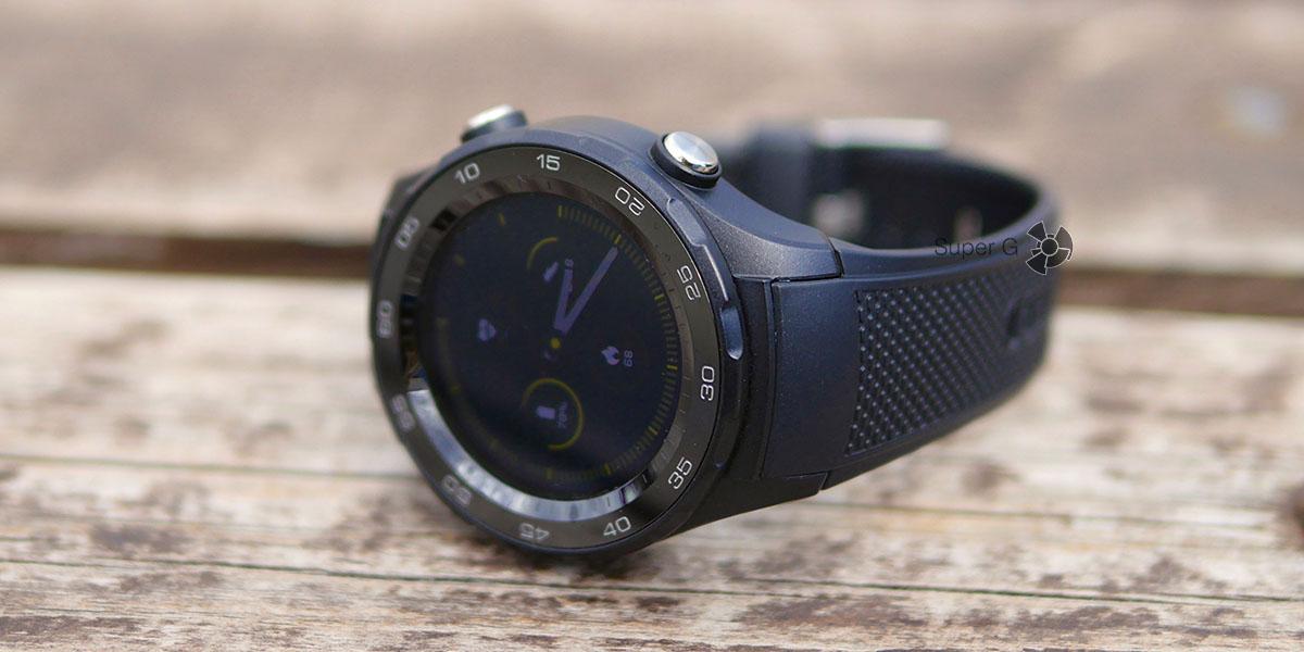 Керамические безель Huawei Watch 2