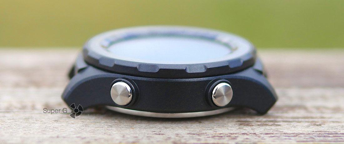 Кнопки управления Huawei Watch 2