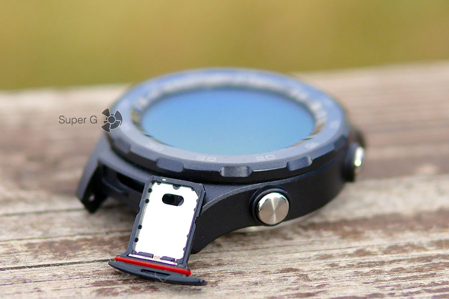 Лоток для Nano SIM-карты в Huawei Watch 2