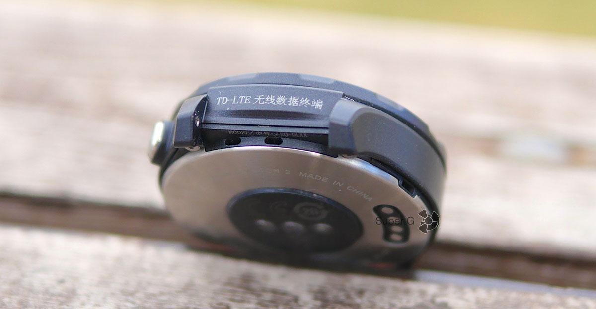 Динамики в Huawei Watch 2