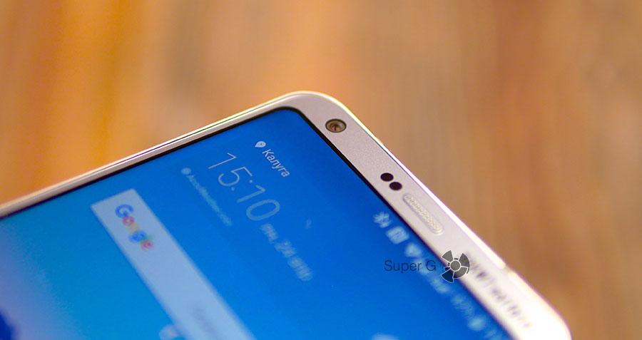 Защитное стекло LG G6 совершенно плоское