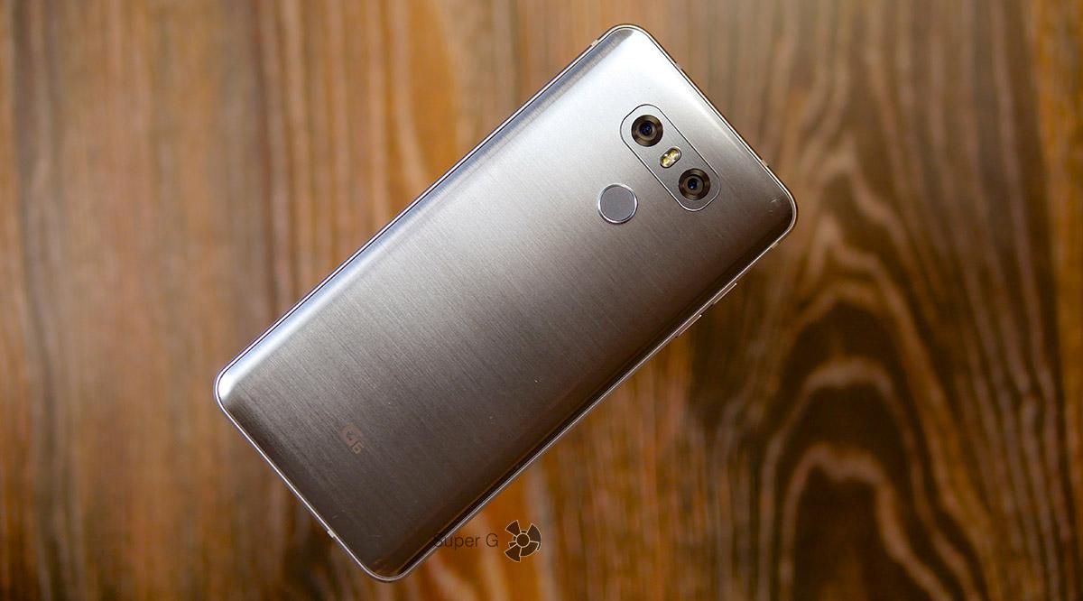 Тестирование смартфона LG G6