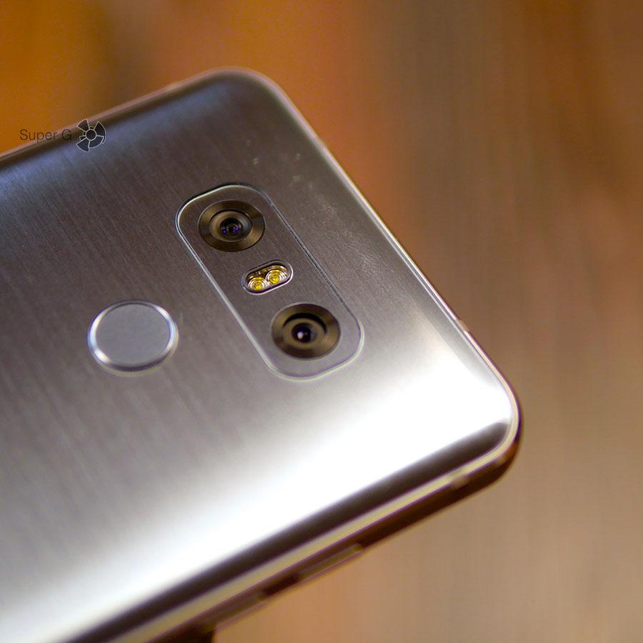 Стекло Gorilla Glass 5 в LG G6 царапается