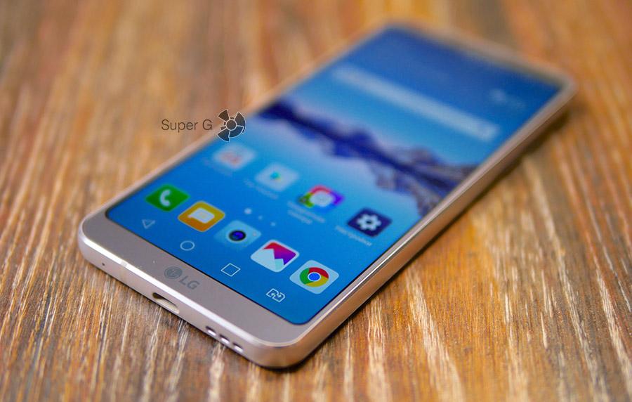 Экран LG G6