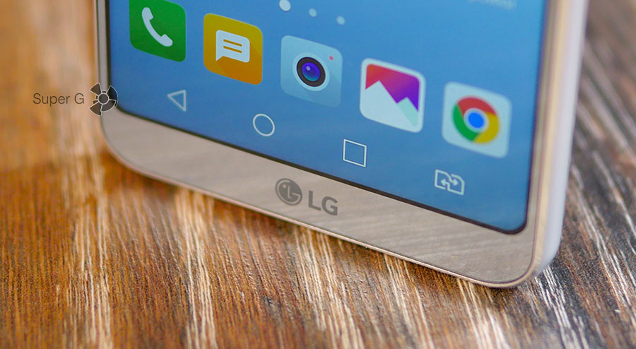 Наэкранные сенсорные кнопки LG G6