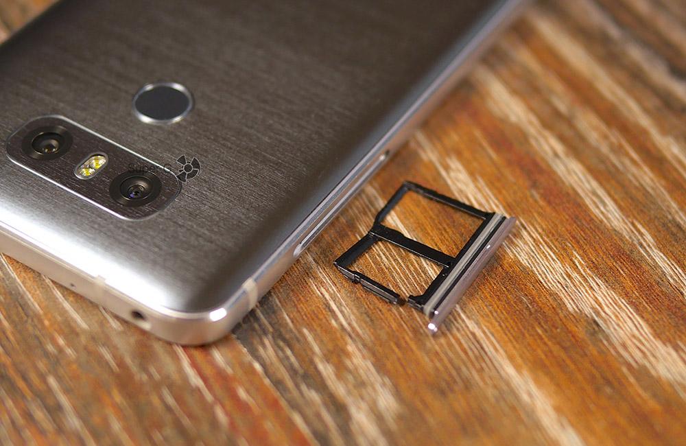 Сломался лоток под SIM-карты в моём LG G6