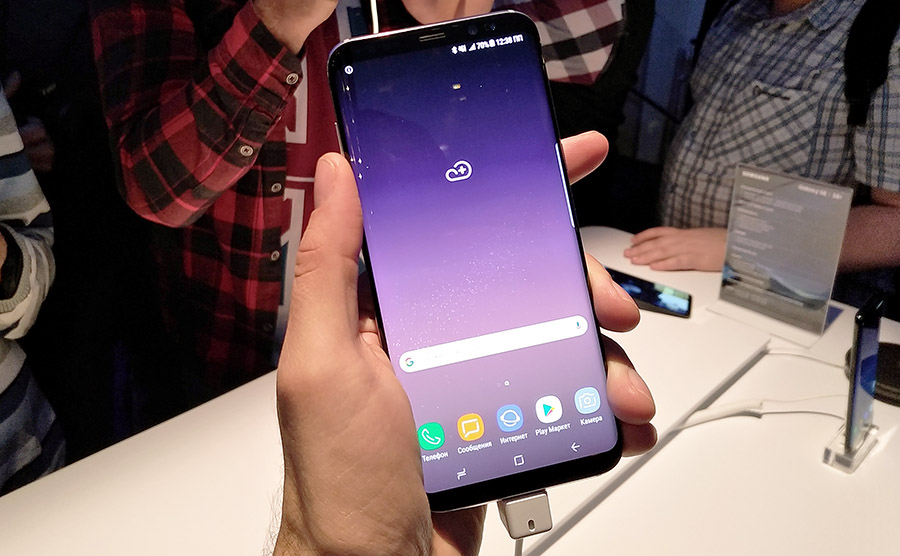 Экран Samsung Galaxy S8+
