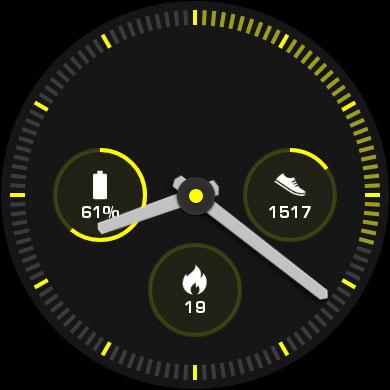 Спортивный циферблат Huawei Watch 2