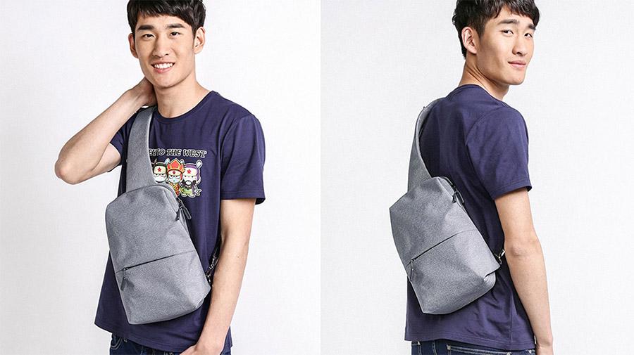 Xiaomi Bag светло-серый цвет