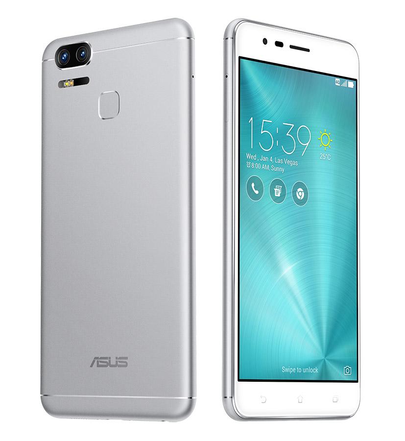 ZenFone 3 Zoom (ZE553KL) серебристый