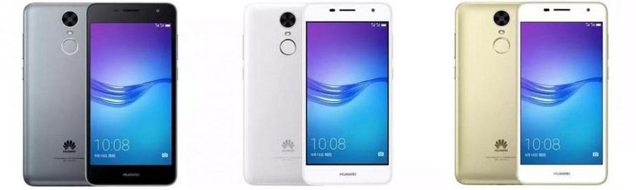 цвета Huawei Enjoy 7 Plus