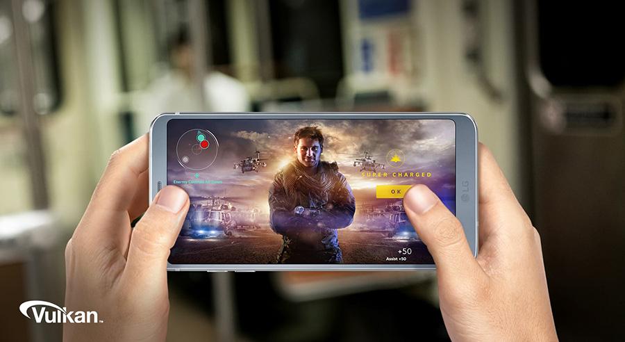LG G6 экран