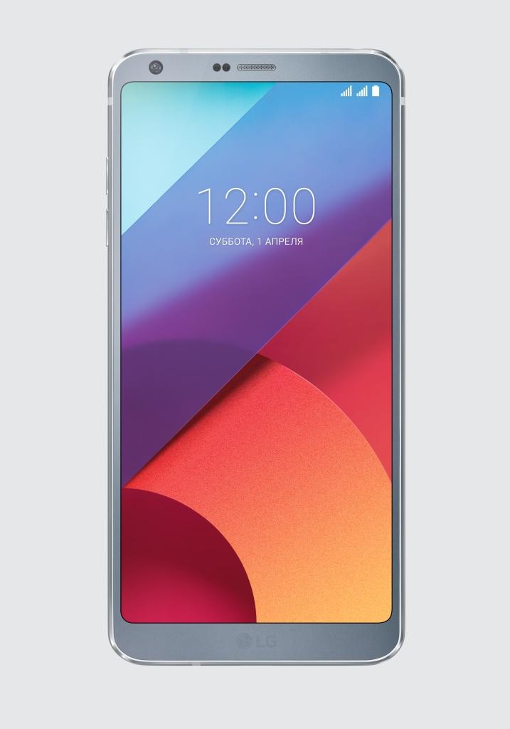 LG G6 передняя панель