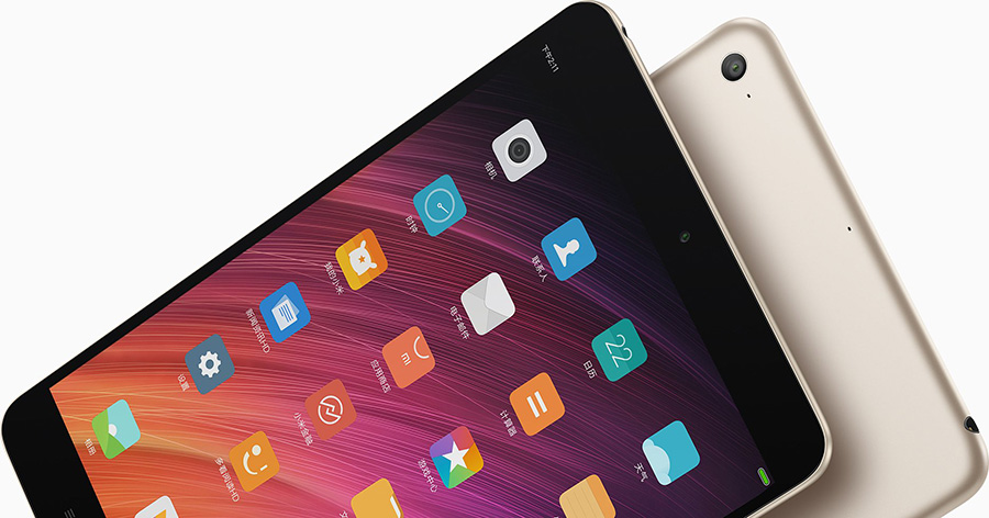 Xiaomi Mi Pad 3 камера