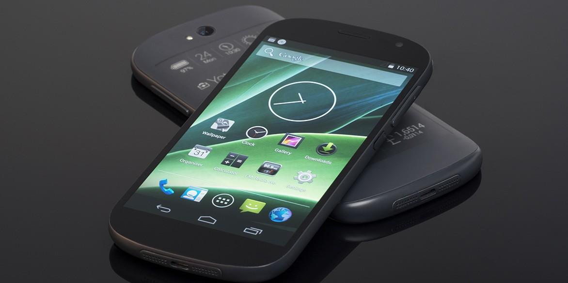 YotaPhone 2 первый взгляд