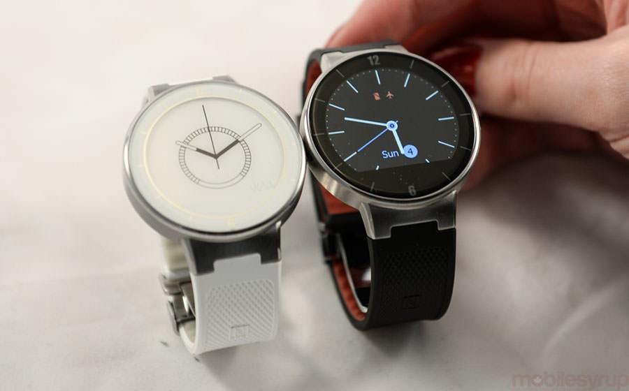 Alcatel OneTouch Watch со своей системой