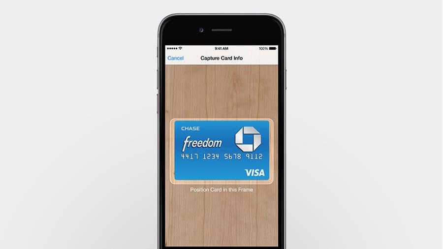 Apple Pay (добавление новой)