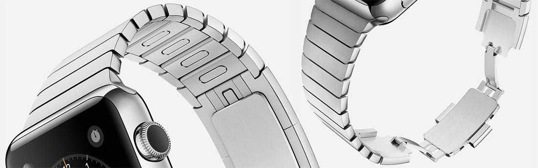 Apple Watch блочный браслет