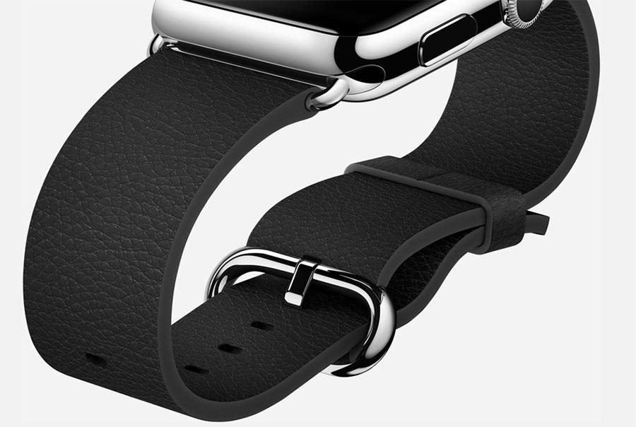 Apple Watch с классической застежкой