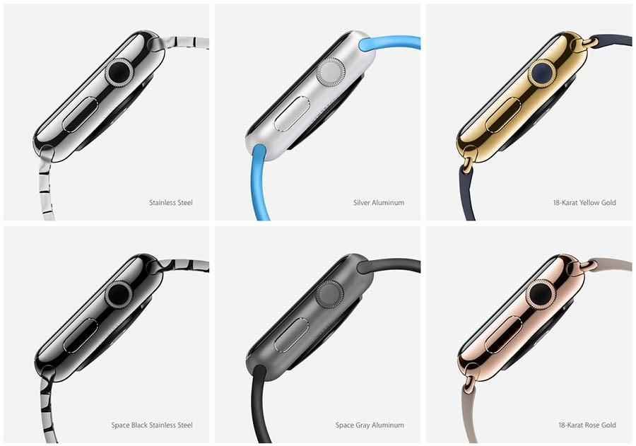 Apple Watch (цвета)