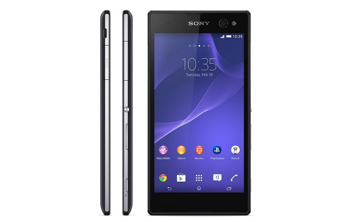 Black edition Sony c3