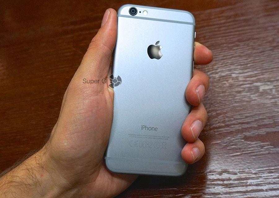 iPhone 6 задняя часть