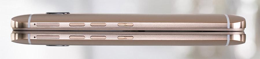 HTC One M9 (боковые стороны)