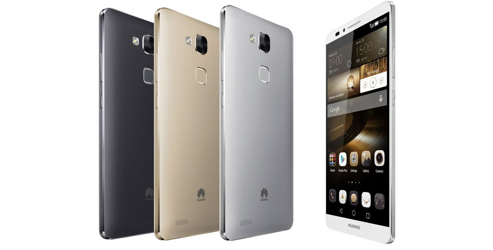 Huawei Ascend Mate 7 colours