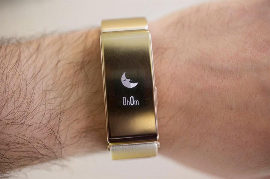 Huawei TalkBand B2 отслеживание сна